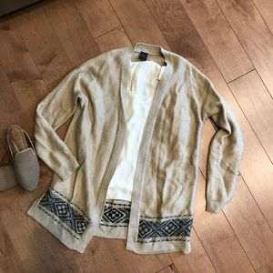 GAP Beige Cardigan